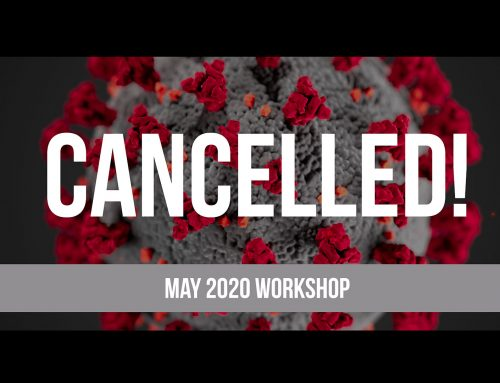 May 2020 Workshop is Cancelled!